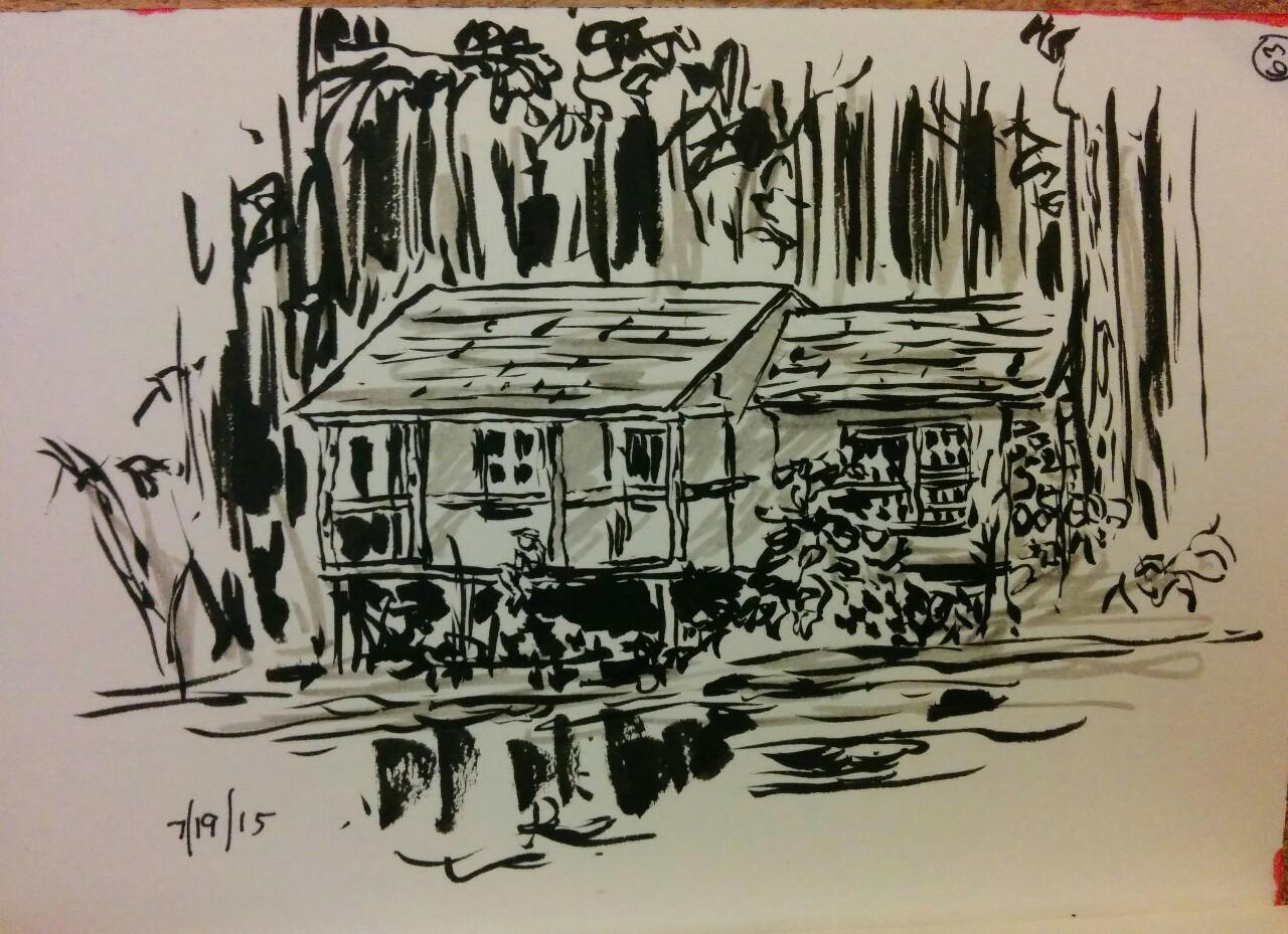 Cabin sketches