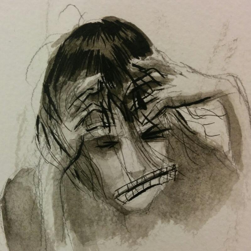 Headache Inkwash