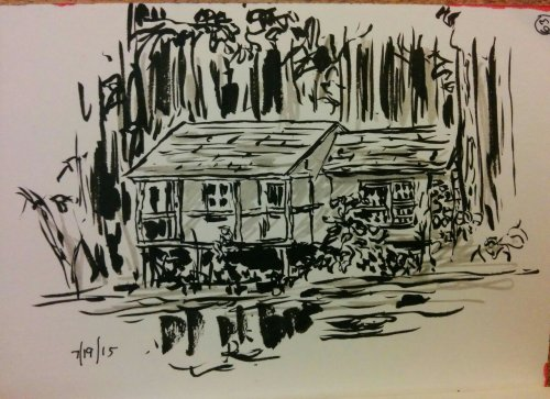 Cabin sketches