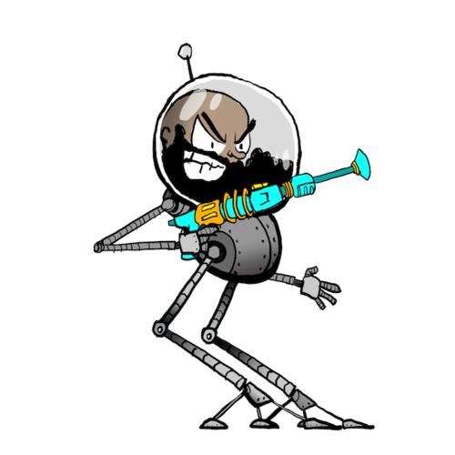 Space Aaron Robot